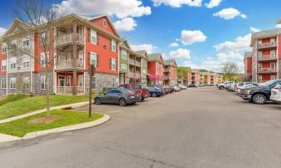 Building, Cortland Bellevue, 1