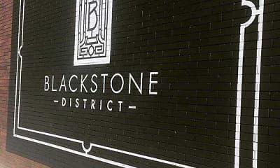 Community Signage, The Blackstone Apartments, 2