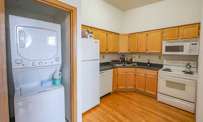 Kitchen, Armory Loft Apartments, 1