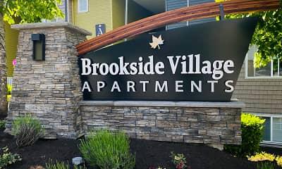 Community Signage, Brookside Village, 2