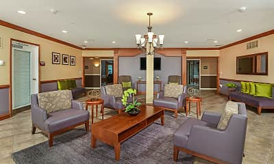 Living Room, Highlands at Faxon Woods, 0