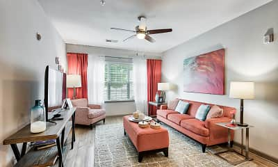 Living Room, The Grove At Kernersville, 1