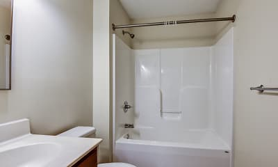 Bathroom, The Apartments at Ames Privilege, 2