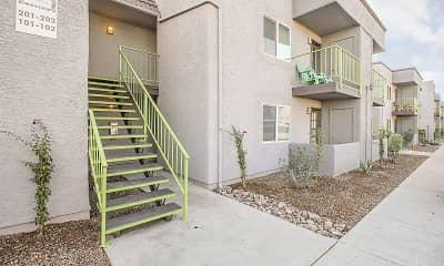 Building, New Horizons Apartments, 0