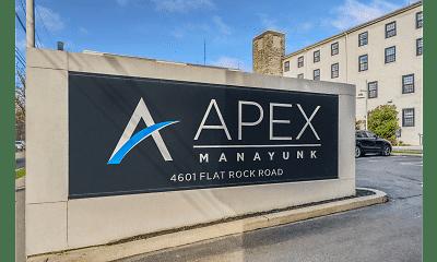Community Signage, Apex Manayunk, 2