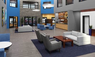 Living Room, Lexington Lofts, 1