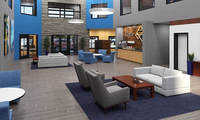 Living Room, Lexington Lofts, 1