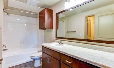 Bathroom, Olympus at Waterside Estates, 2