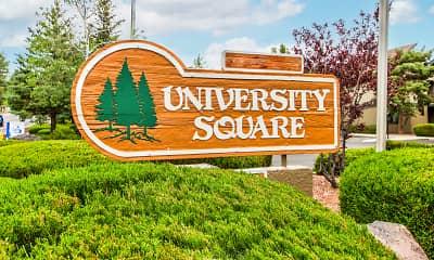 Community Signage, University Square Apartments, 2