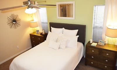 Bedroom, The Waterford at Mandarin Apartments, 2