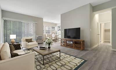 Living Room, Woods Edge Apartment Homes, 0
