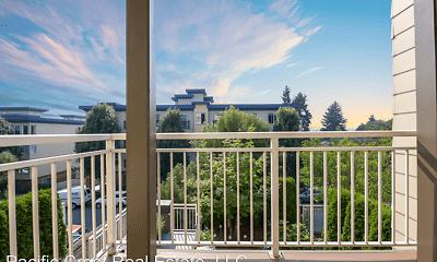 Patio / Deck, Max Apartments, 2