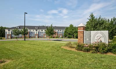 Community Signage, Loftin at Montcross Senior Apartments, 2