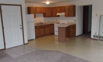Kitchen, Prairie Ridge Apartments, 1