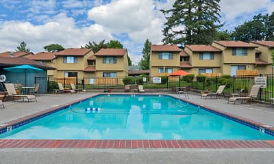 Pool, Forest Ridge Apartment Homes, 1