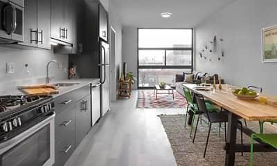 Kitchen, L Logan Square, 1