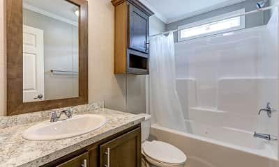Bathroom, Frenchtown Villa, 2