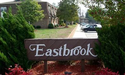 Community Signage, Eastbrook and Village Green Apartments, 1