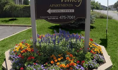 Community Signage, Hidden Valley Apartments, 2