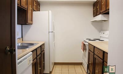 Kitchen, Indian Lookout Apartments, 2