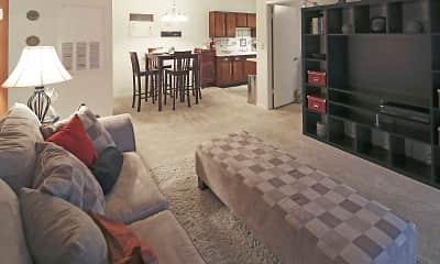 Living Room, Monte Sano Terrace, 1