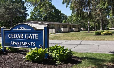 Community Signage, Cedargate Apartments, 0