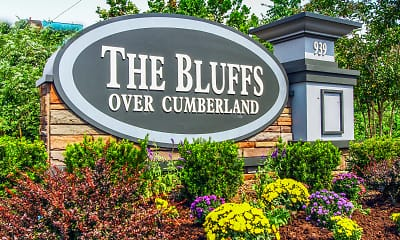 Community Signage, The Bluffs over Cumberland, 2
