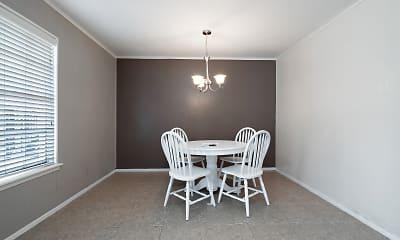 Dining Room, Casa Rosa, 1