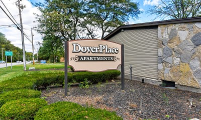 Community Signage, Dover Place Apartments, 2