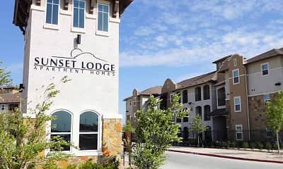 Community Signage, Sunset Lodge, 2