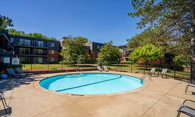 Pool, Aquarius Apartments, 1