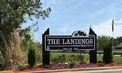 Community Signage, The Landings, 1