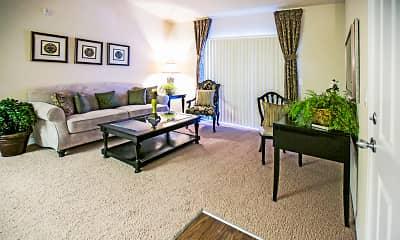 Living Room, Crescent Ridge, 1