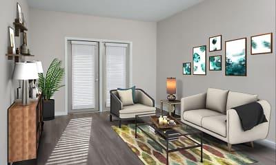 Living Room, Spyglass Seaside, 1