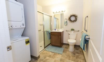 Bathroom, Towne Square Senior Apartments, 2