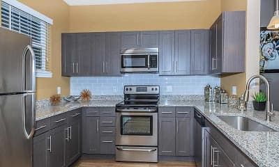 Kitchen, Fountain Lake Apartments, 1