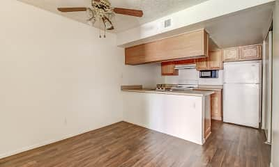 Kitchen, Rancho Las Palmas, 1