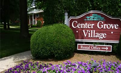 Community Signage, Center Grove Village, 1