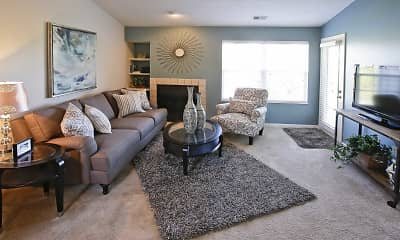 Living Room, Sunlake Apartment Homes, 1