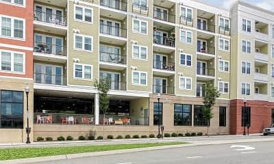 Building, City Block Apartments, 2