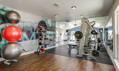 Fitness Weight Room, Residence on Lamar, 0