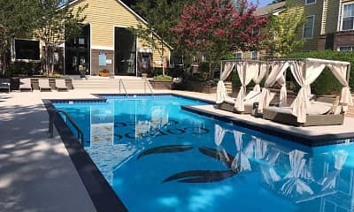 Pool, Copper Creek Apartments, 1