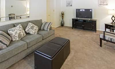 Living Room, Summerdale Apts, 1