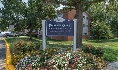 Community Signage, Parkland Square, 2