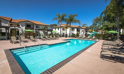 Pool, Barham Villas, 1