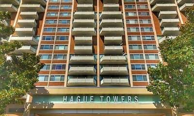 Community Signage, Hague Towers, 0