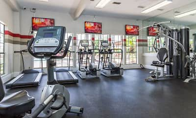 Fitness Weight Room, Montevista at Windermere, 2