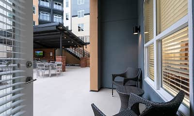 Patio / Deck, The Aster, 1