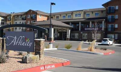 Community Signage, Affinity at Albuquerque Apartments 55+ Active Living Community, 1