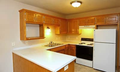 Kitchen, Colonial Court Apartments, 2